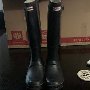 Perfect condition Hunter Boots